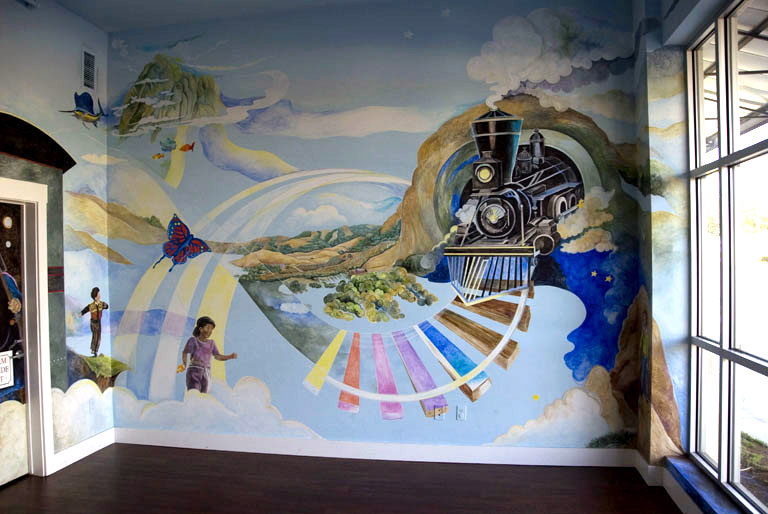 Magical Murals by Carol A. Salomon-Bryant!